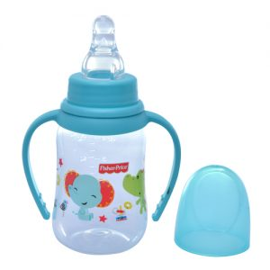Bình sữa núm silicone có tay cầm Fisher Price 125ml