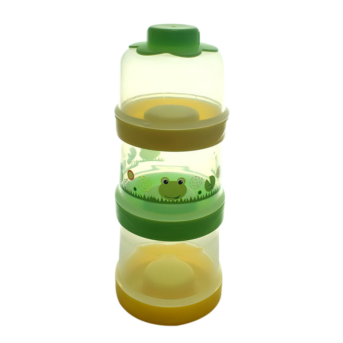 Hộp chia sữa 3 tầng tách riêng, kèm nắp (55501)