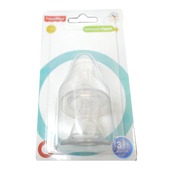 Núm vú silicone cổ thường Fisher Price