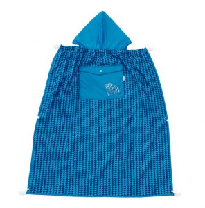 Áo trùm địu che mưa cho bé màu xanh - N99268